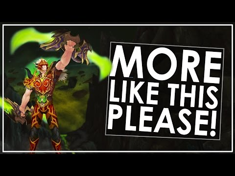 The Power of Challenge (WoW Legion)