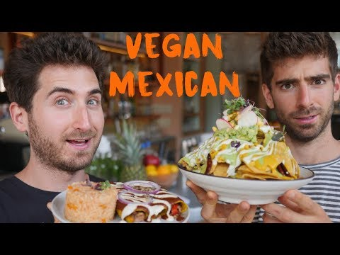 This Restaurant Serves Vegan Mexican Food and Customers Don't Even Know...