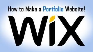 How to Make a FREE Portfolio, Website Design!