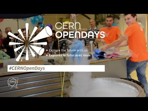Watch again | #CERNOpenDays: The CERN yesterday, today, and tomorrow
