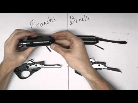 Franchi Affinity vs Benelli M2 for 3-Gun - Detailed Parts Comparison