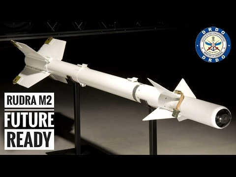DRDO Rudra M2 - New Rudra M-II Future Ready Air To Surface Missile For Indian Airforce (Hindi)