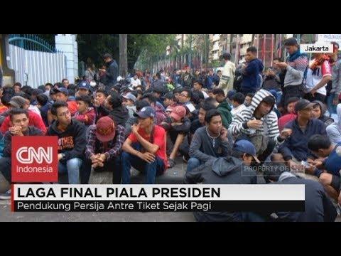 The Jakmania Antre Tiket Final Piala Presiden Sejak Pagi Persija Vs Bali United