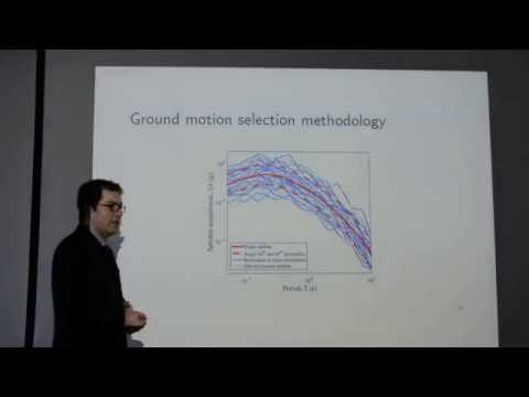 Ground motion selection for seismic response analysis - Karim Tarbali