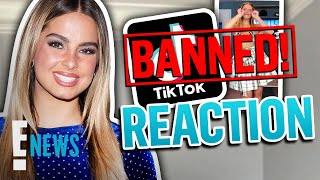 Addison Rae Temporarily BANNED From TikTok: See Her Reaction | E! News