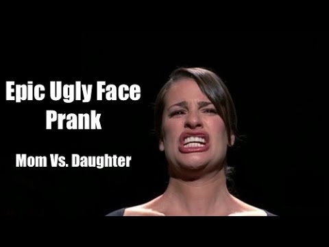 Mom Does Ugly Face Prank On Daughter - YouTube