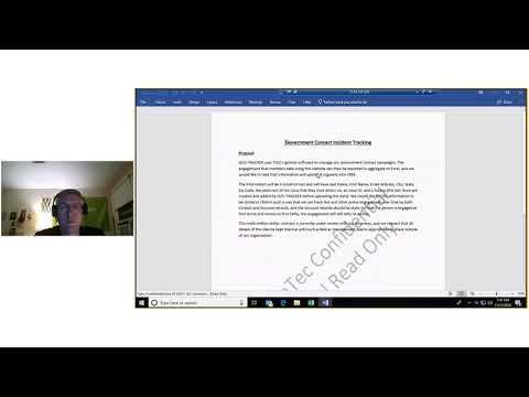 Azure Information Protection Demo - Nov. 11, 2018