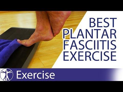 graphic regarding Plantar Fasciitis Exercises Printable known as Greatest 3 Workouts for Plantar Fasciitis - YouTube