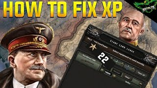 HOI4 How to fix The Lend Lease XP Bug (Hearts of Iron 4 Tutorial Guide)