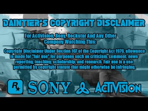 FREE COPYRIGHT DISCLAIMER TEMPLATE - YouTube