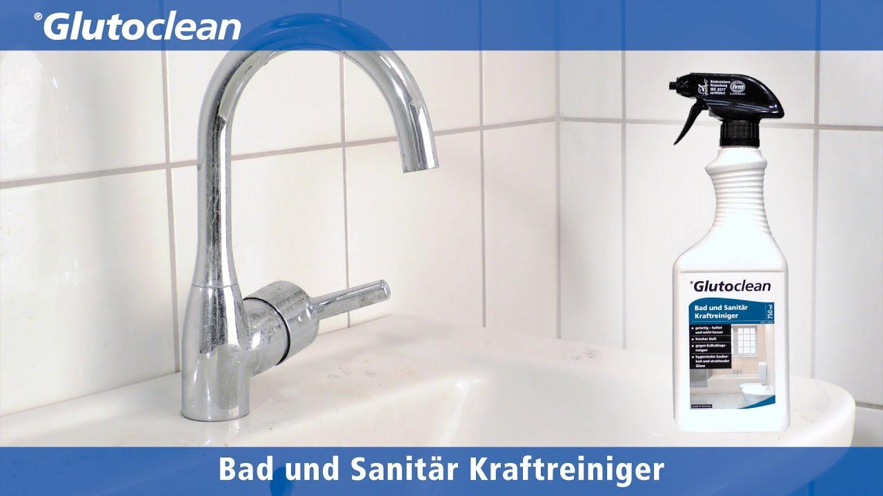 glutoclean - bad und sanitär kraftreiniger - youtube - Bad Und Sanitar