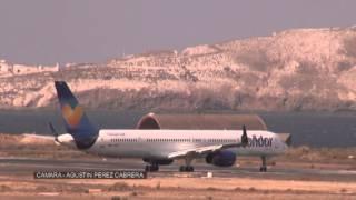 Aeropuerto de Gran Canaria Tardes de aviones 20 8 2014