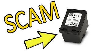 How to Avoid the Ink Cartridge SCAM Refilling the Old Ink Cartrige