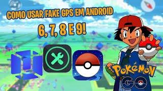 FAKE GPS COM JOYSTICK ATUALIZADO PARA ANDROID 5,6,7,8 E 9 COM VMOS NO POKÉMON GO 2020!