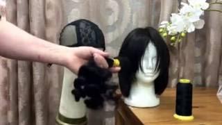 как сделать парик из натуральных волос