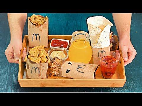 ПОВТОРИЛИ ВСЕ МЕНЮ McDonald's