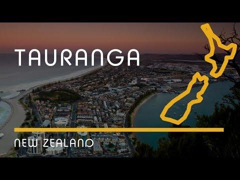 Tauranga, New Zealand (city Overview, English Subtitles)