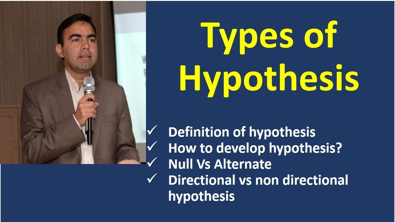 Download What is Hypothesis | how to develop hypothesis | directional and non directional hypothesis