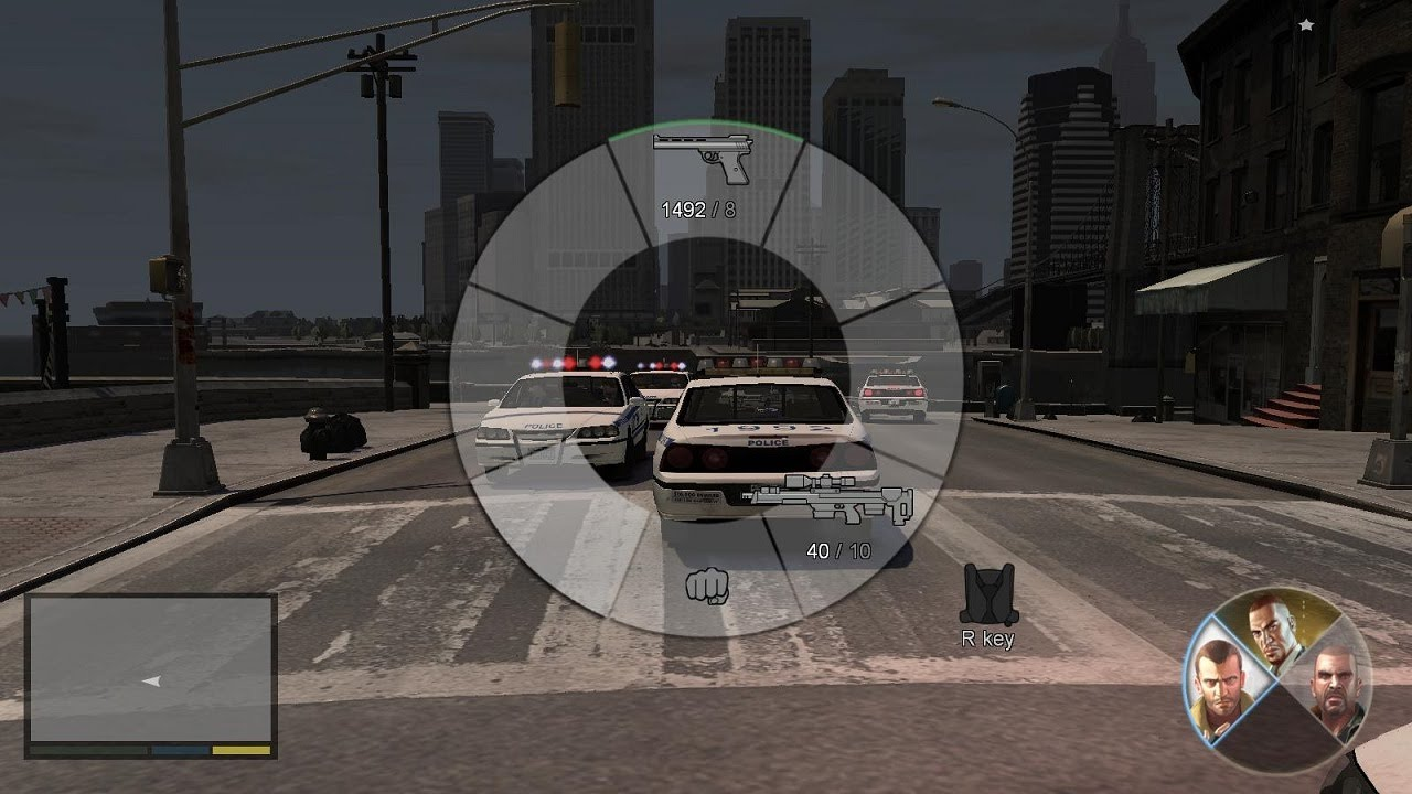 How to set the mode in GTA 4