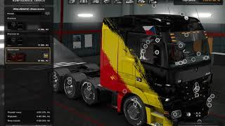 ETS2 Euro Truck Simulator 2 Mercedes Actros MP3 Reworked v 1 9