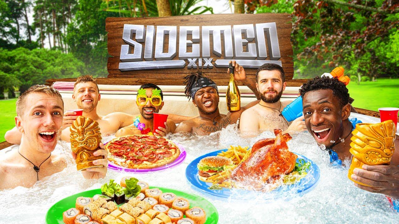 Download SIDEMEN HOT TUB MUKBANG