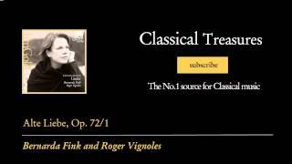 Johannes Brahms - Alte Liebe, Op. 72/1