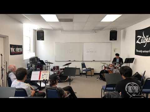 LACM (Los Angeles College of Music) with Joe Porcaro