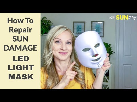 led-light-therapy-mask-|-how-to-repair-the-skin-after-sun-damage-|-skincare-|-ep05