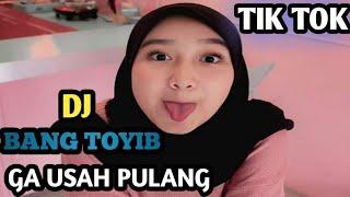 Download Mp3 Dj Slow Bang Toyib Ga Usah Pulang Tiktok Terbaru 2019 Remix By Dj Sedap