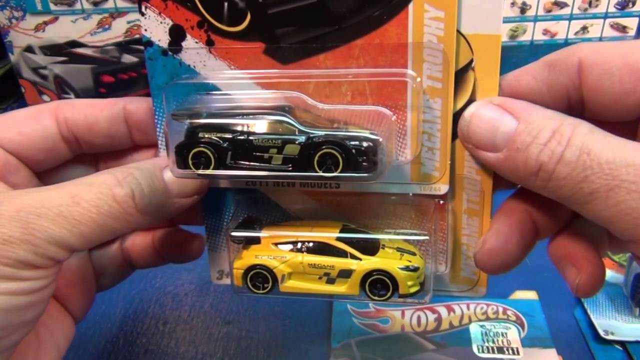 New Models, Modern Automobiles 2011 Hot Wheels Year In Review - YouTube