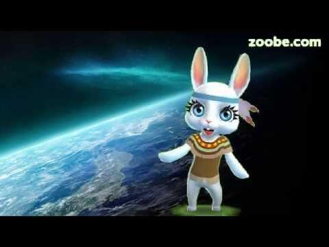 Zoobe Зайка Поздравление с Днем Космонавтики, песня - Видео приколы ржачные до слез
