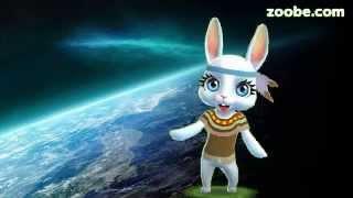 Zoobe Зайка Поздравление с Днем Космонавтики, песня