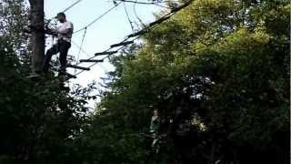 Hindernisbaan - Camping Le Canigou - Stam Outdoor - 2012
