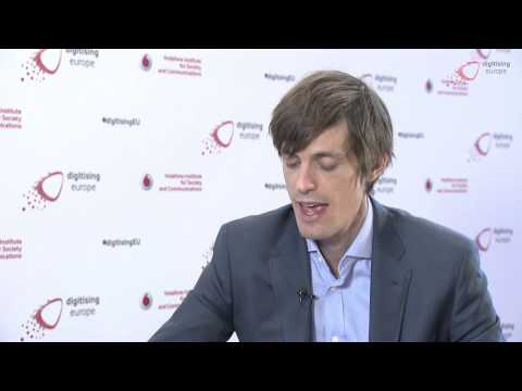 """Interview with Michael A. Osborne at the """"digitising europe"""" summit"""