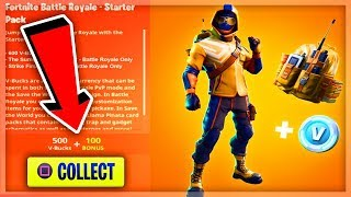 *NEW* How To Get STARTER PACK 4 FOR FREE IN FORTNITE! | SUMMIT STRIKER (PS4 & Xbox One)