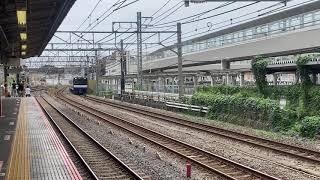 JR横須賀線E235系1000番台 試運転 大船にて