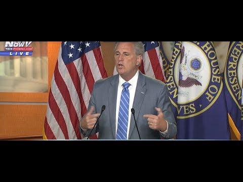 "DEFENDING TRUMP: Kevin McCarthy BLASTS Pelosi and ""Squad"" Members"