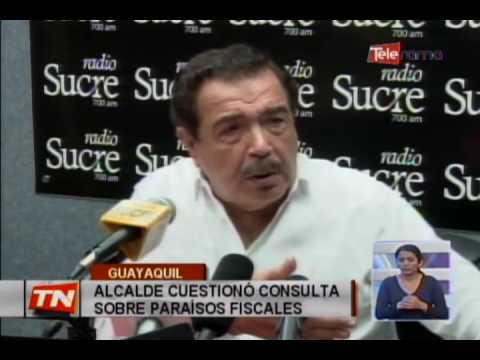 Alcalde cuestionó consulta sobre paraísos fiscales