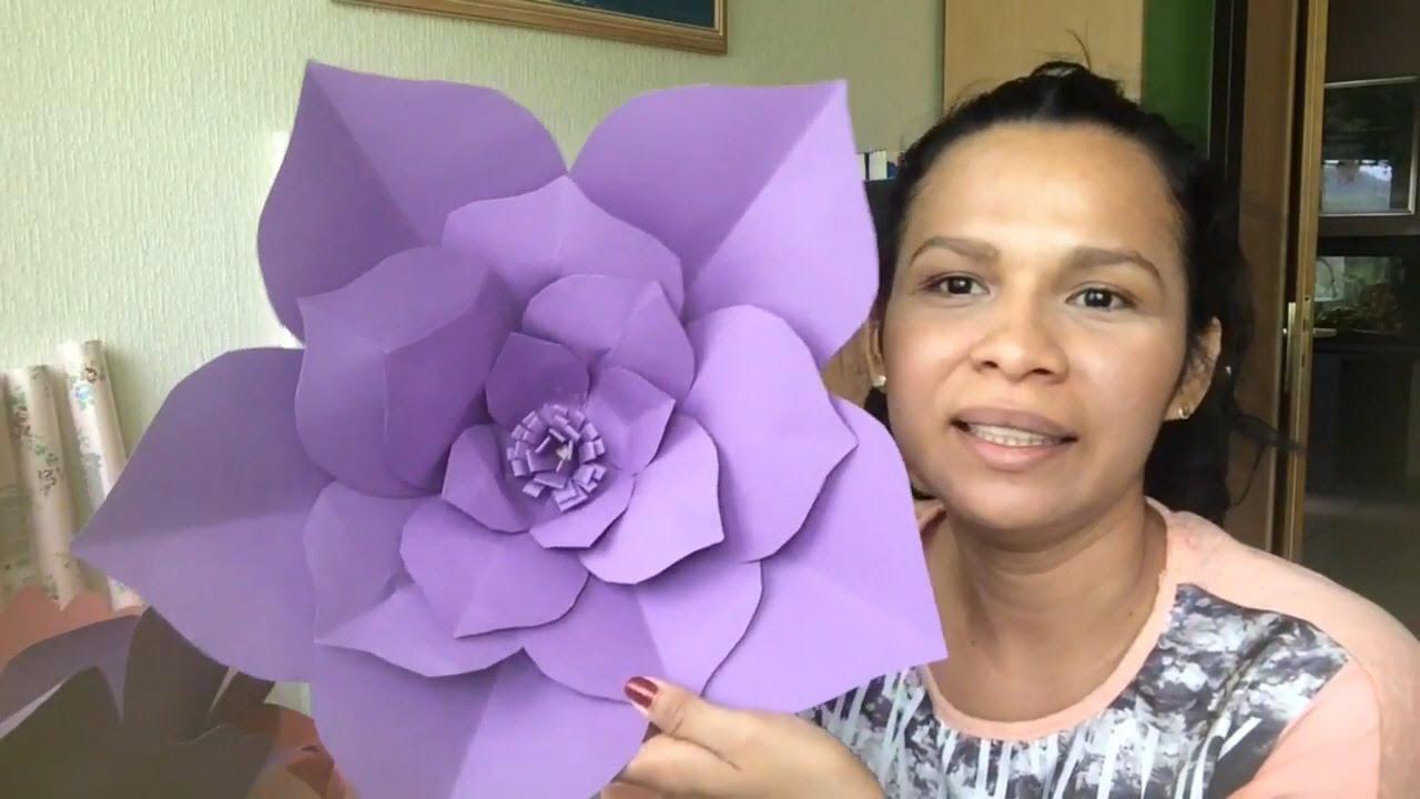 Flores gigantes para decora sua festa youtube - Posters gigantes para pared ...