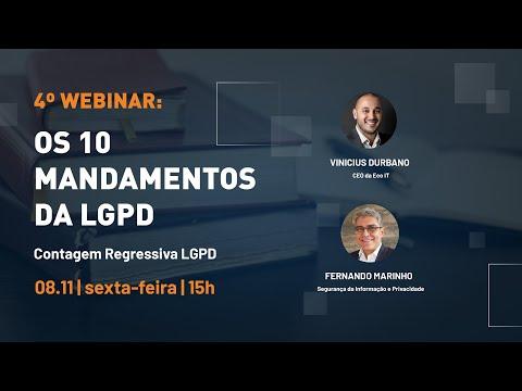 10 MANDAMENTOS DA LGPD | VINICIUS DURBANO E FERNANDO MARINHO