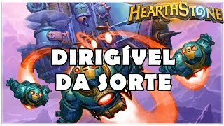 HEARTHSTONE - DIRIGÍVEL DA SORTE! (STANDARD RECRUIT WARRIOR)