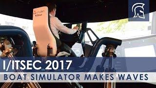 Boat Simulator Makes Waves