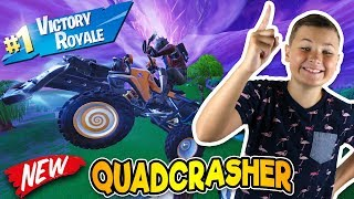 FORTNITE QUADCRASHER VICTORY ROYALE WITH MY BRO SIMASGAMER