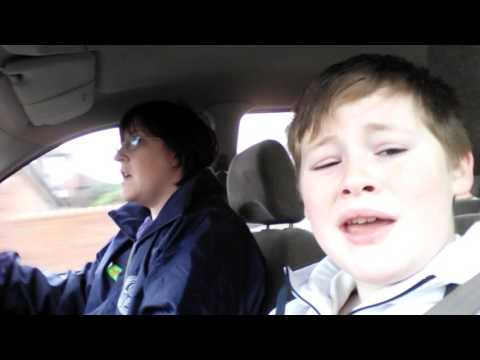 Carpool karaoke #1
