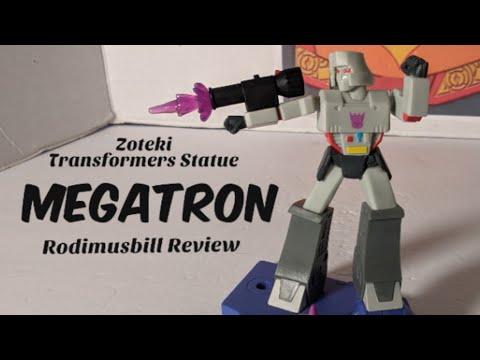 Zoteki Transformers MEGATRON G1 Statue by Jazwares - Rodimusbill Review (Part 3)