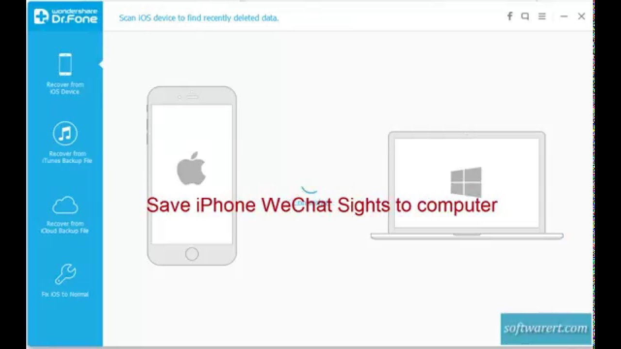 save wechat sight videos from iphone to computer youtube