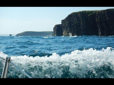 Islands on the edge of Atlantic