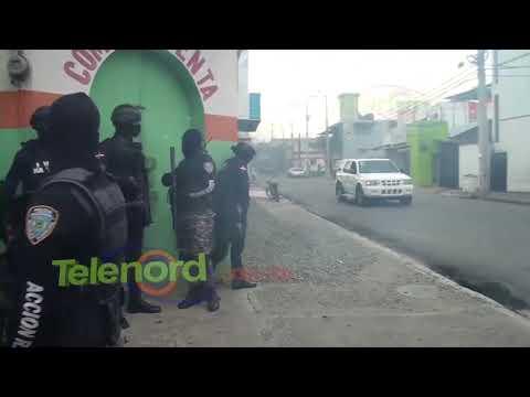 Quema de neumáticos y alto patrullaje policial en SFM previo a huelga