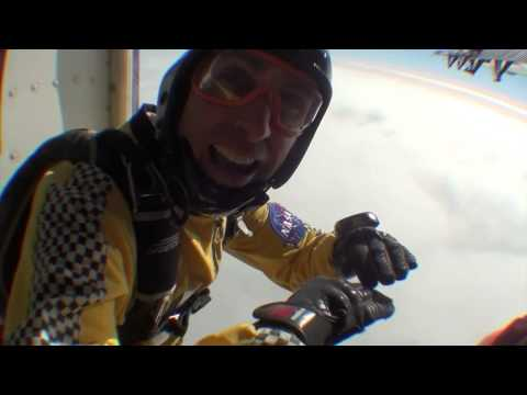 Skydive Under Eclipse 2015