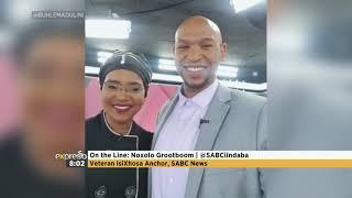 Veteran IsiXhosa News Anchor Noxolo Grootboom On Her Last Broadcast